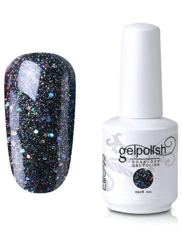 Outfit Elite99 Full Sequins Gel Polish Soak Off UV LED Nail Art Lacquer