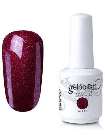 Elite99 Soak Off UV LED Multicolore Gel Polish Nail Art Glitter Clear 15ml 12#