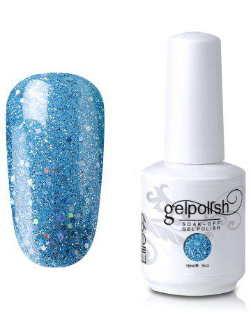 New Elite99 Full Sequins Gel Polish Soak Off UV LED Nail Art Lacquer #17