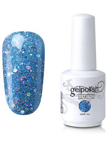 Fashion Elite99 Full Sequins Gel Polish Soak Off UV LED Nail Art Lacquer