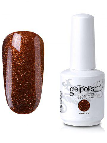 Elite99 Soak Off UV LED Multicolore Gel Polish Nail Art Glitter Clear 15ml