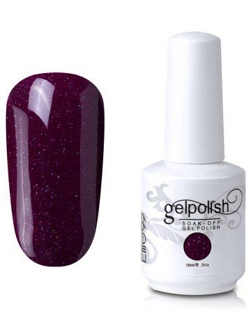 Unique Elite99 Soak Off UV LED Multi-color Gel Polish Nail Art Glitter Clear 15ml #30