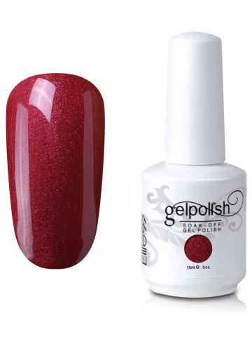 Trendy Elite99 Soak Off UV LED Multi-color Gel Polish Nail Art Glitter Clear 15ml #37