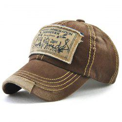 Bahamas Handwritten Letters Applique Baseball Hat -