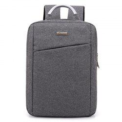 Metal Embellishment Laptop Backpack -