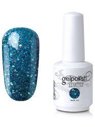 Elite99 Full Sequins Gel Polish Soak Off UV LED Nail Art Lacquer - 11#