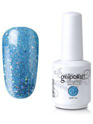Elite99 Full Sequins Gel Polish Soak Off UV LED Nail Art Lacquer - #17