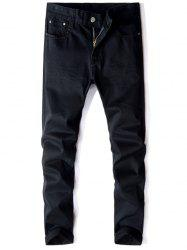 Jeans Straight Leg Mid Rise -