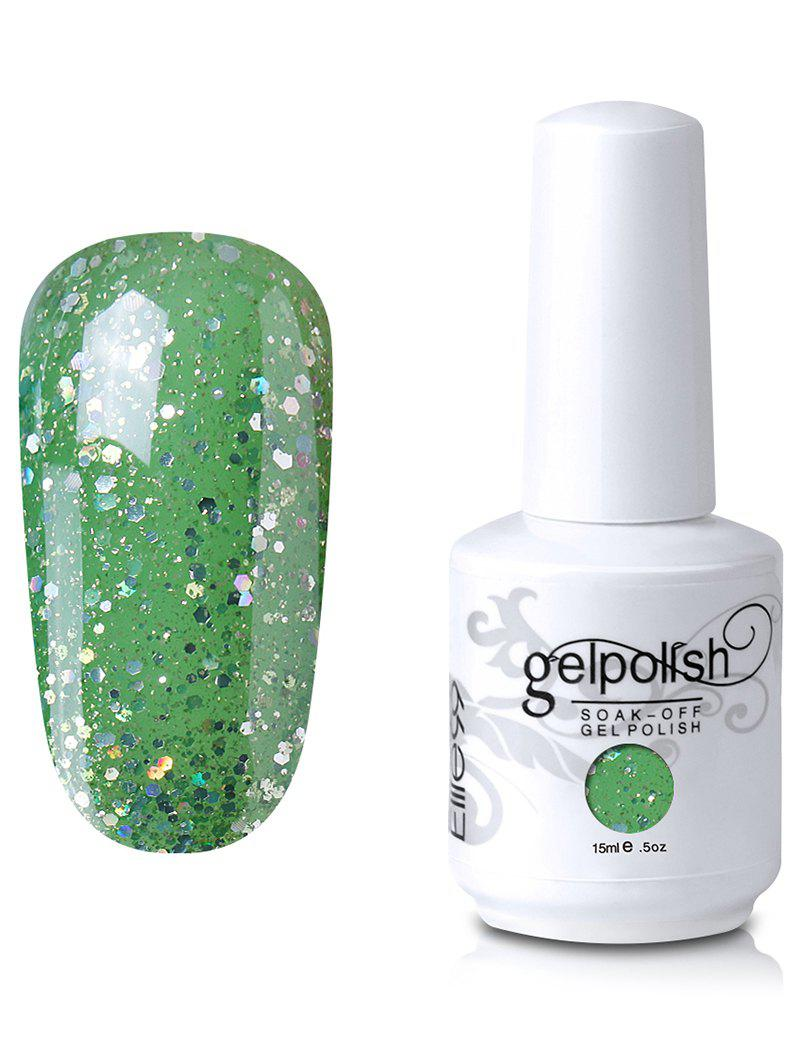 Outfit Elite99 Soak-off UV LED Sequins Gel Polish Lacquer Nail Art
