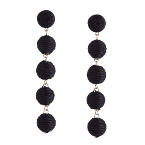Ball Ethnic Drop Earrings -