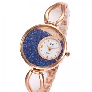 Alloy Strap Sands Face Watch -