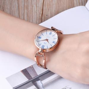 Alloy Strap Roman Numerals Watch -