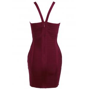 Cami Strap Club Bandage Dress -