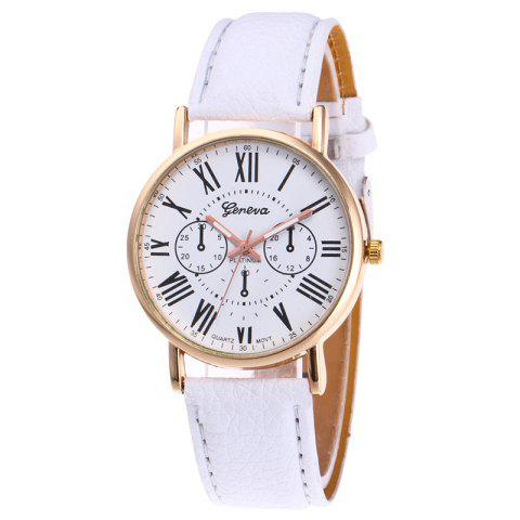 Sale Roman Numeral Round Quartz Watch
