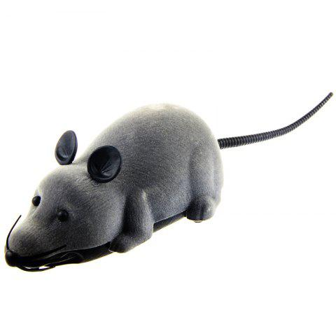 Latest Wireless Electronic Remote Control Tricky Mouse Toy - GRAY  Mobile