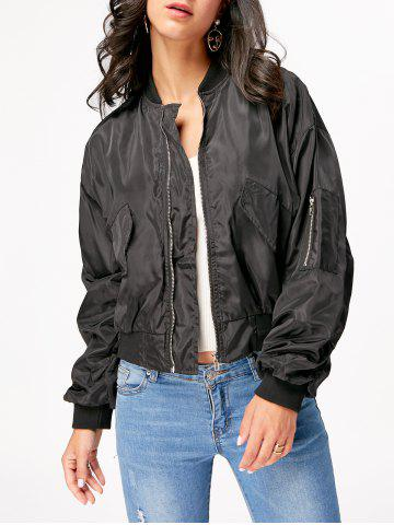 Outfits Understand Bomber Jacket BLACK S