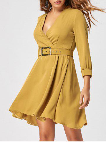 New Skater Dress with Belt - M GINGER Mobile