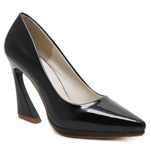 Best Strange Heel Point Toe Basic Pumps