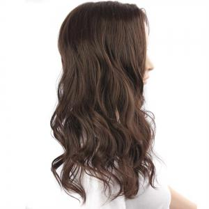 Medium Center Parting Fluffy Body Wave Synthetic Wig -