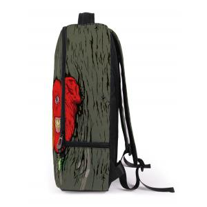 Zips Monster Canvas Backpack -