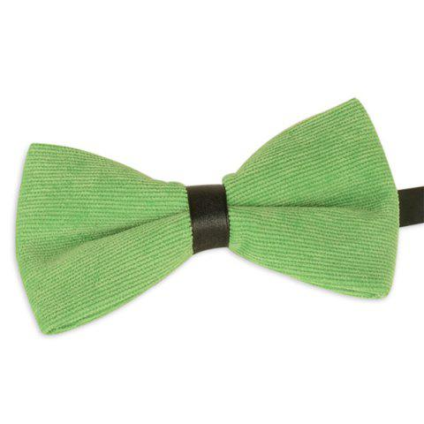 Shops Multicolor Corduroy Bow Tie - GRASS GREEN  Mobile