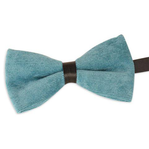 Best Multicolor Corduroy Bow Tie LAKE GREEN