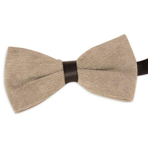 Affordable Multicolor Corduroy Bow Tie