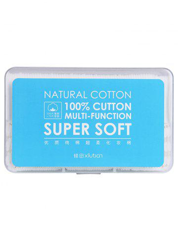 Store 500Pcs Thin and 70Pcs Thick Multifunction Soft Natural Cotton Pads Random Color of Box COLORMIX