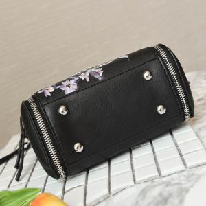 Lettre Flower Print Crossbody Bag -