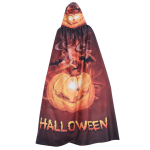 Magic Cloak with Halloween Printed -