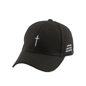 ... Cross Embroidery Baseball Dad's Hat with Tail ...
