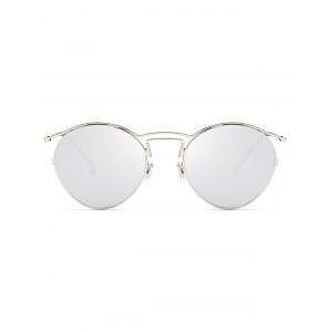 Retro Metal Pilot Shades Sunglasses -