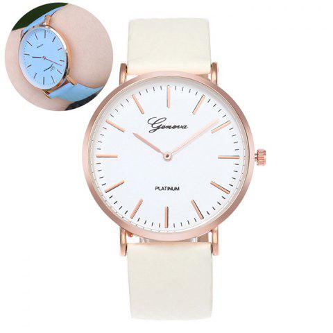 Affordable Color Change In The Sunlight Quartz Watch BLUE
