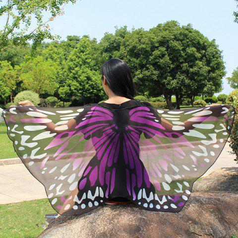 Shops Colorful Butterfly Wings Scarf