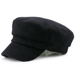 Winter Plain Military Hat -