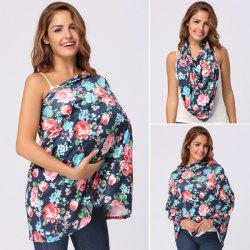 Floral Allover Print Nursing Cover -