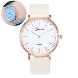 Color Change In The Sunlight Quartz Watch - BLUE