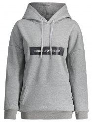 Pocket Plus Size Unique For Retro Hoodie -