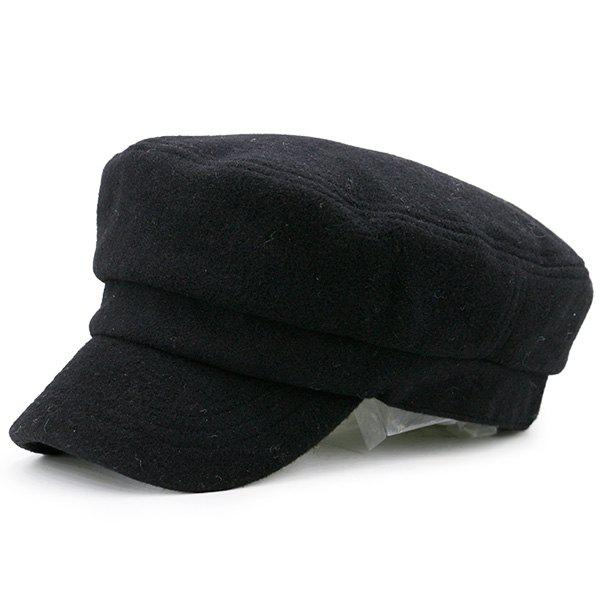 New Winter Plain Military Hat