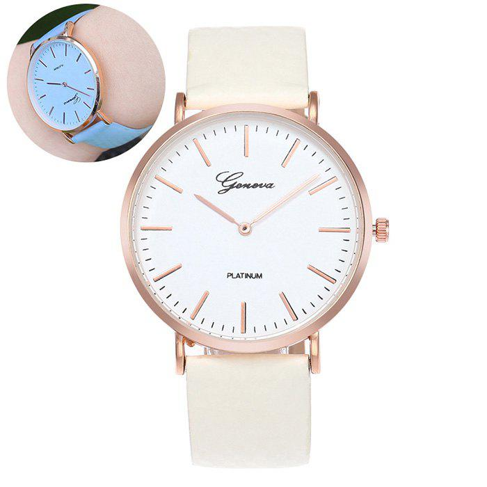 Affordable Color Change In The Sunlight Quartz Watch