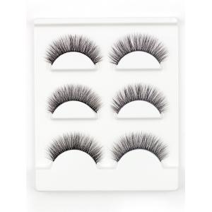 3 Pairs Natural Long Extension Flase Eyelashes - #04