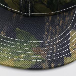Wild Jungle Print Baseball Cap - ARMY GREEN