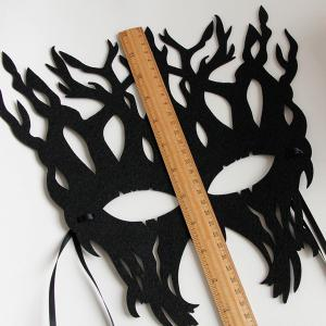 Halloween Party Tree Mask - BLACK
