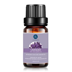 6Pcs Peppermint Lavender Lemon Rosemary Frankincense Sandalwood Essential Oil Set - MULTI
