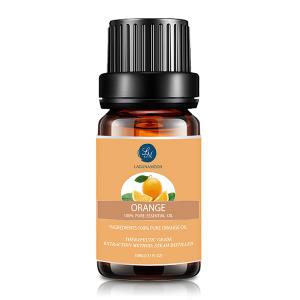 4Pcs Myrrh Orange Thyme Bergamot Essential Oil - MULTI