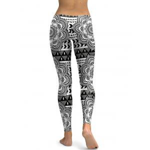 Skinny Digital Floral Leggings -