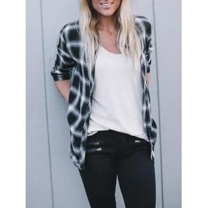 Casual Checked Button Up Shirt -