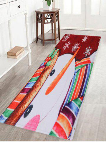 Tapis de protection anti-écrasement de l'automne Snow Snow Pattern