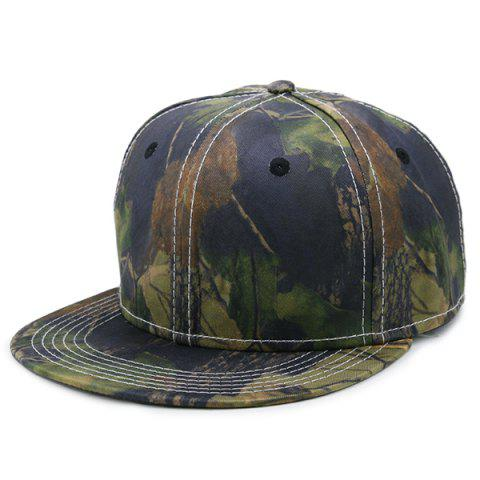 Affordable Wild Jungle Print Baseball Cap ARMY GREEN