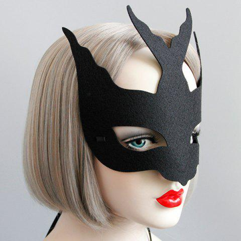 Unique Fly Bird Halloween Party Mask - BLACK  Mobile